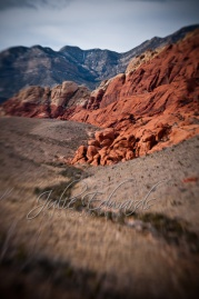 Lensbaby Rock Canyon