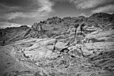 Black and white Red Rock Canyon