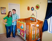maternity portrait nursery