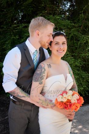 Tattoo Wedding Portrait