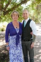 Groom and Mom
